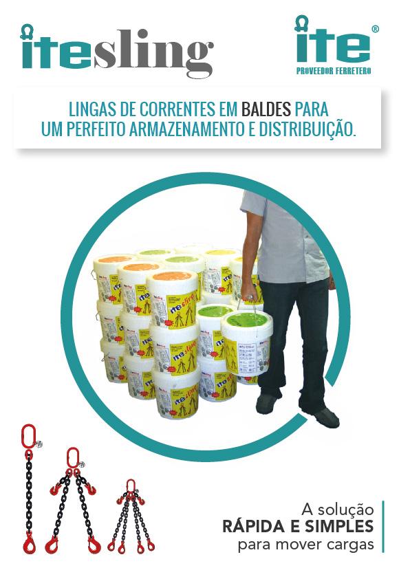 LINGAS DE CORRENTES EM BALDES