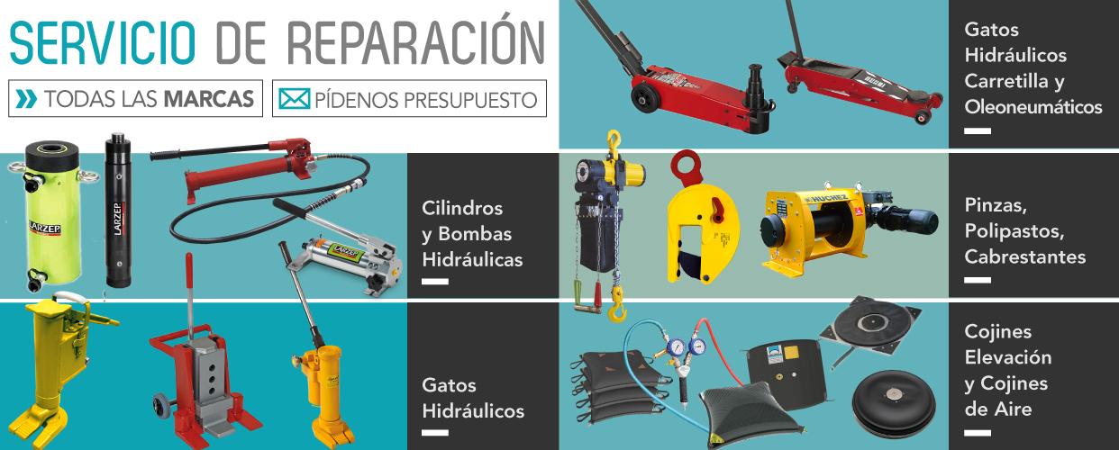 Reparación de herramientas ferreterias